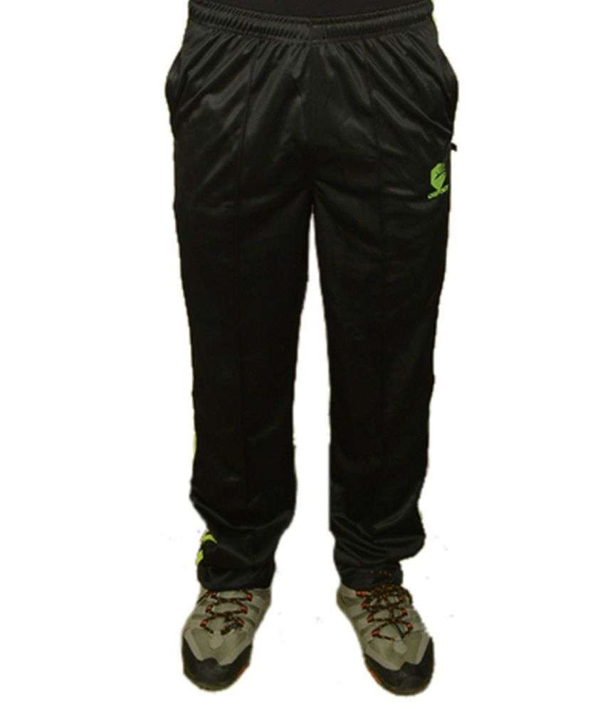 Ospey Trackpant Black Polyester Trackpants