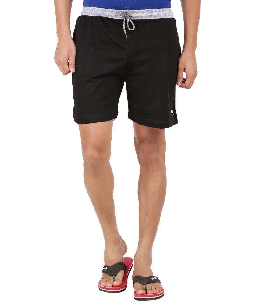 Wild Original Black Cotton Short