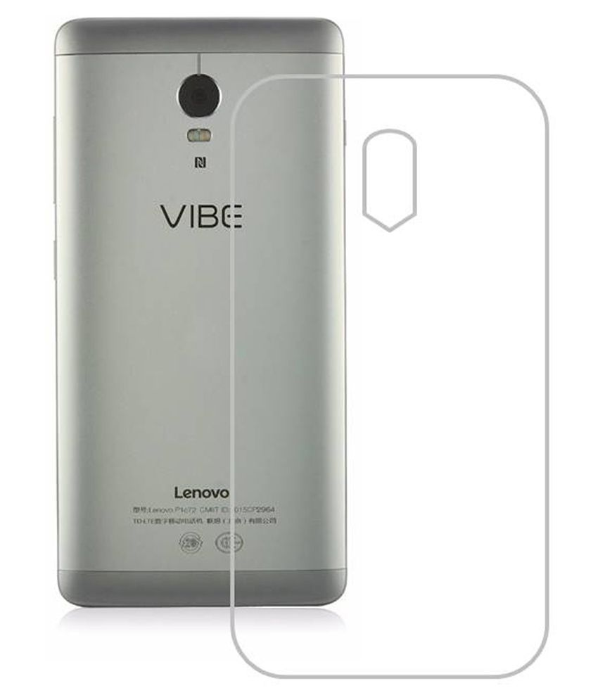 the best attitude 5b059 7d5c9 NeeShee Back Cover For Lenovo Vibe P1 - Transparent - Plain Back ...