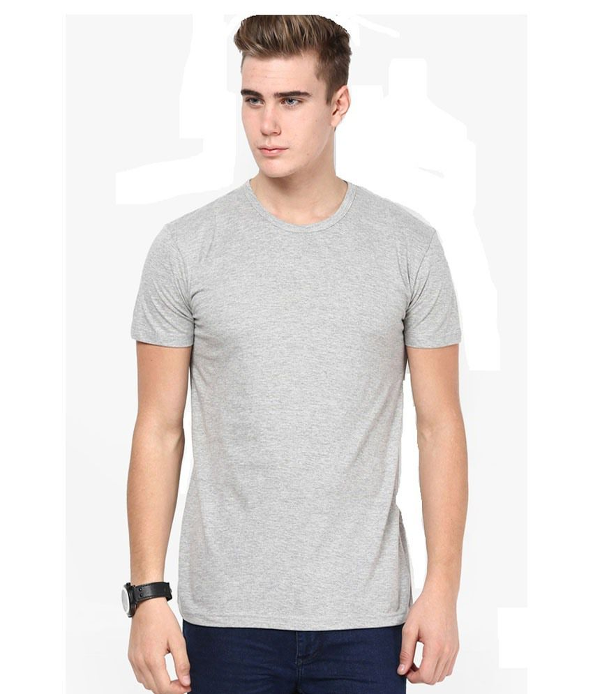 DG Grey Half Sleeves T-Shirt
