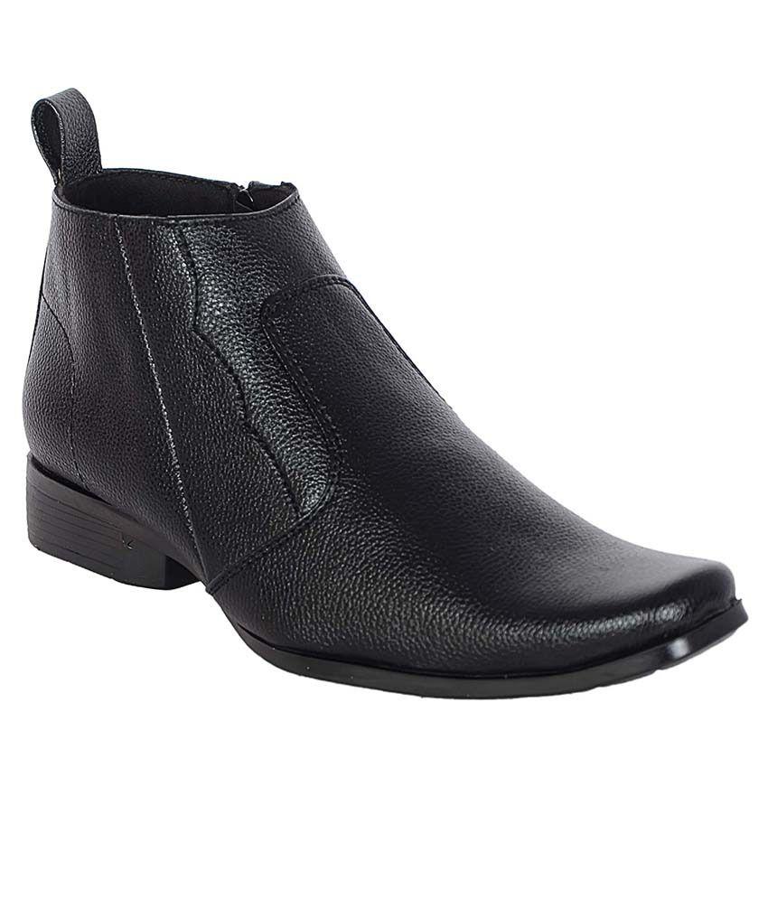 George Adam Black Boots