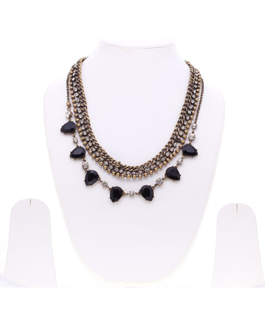 Just Pretty Things Gold Alloy Necklace