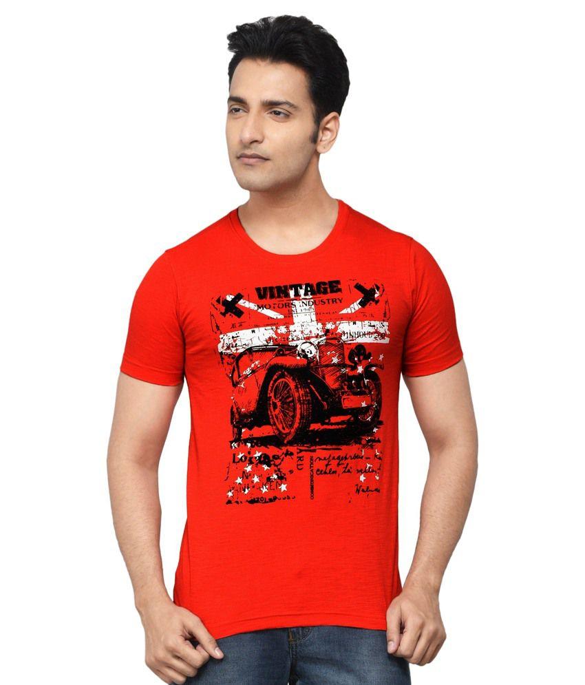 Regnum Red Round T-Shirt