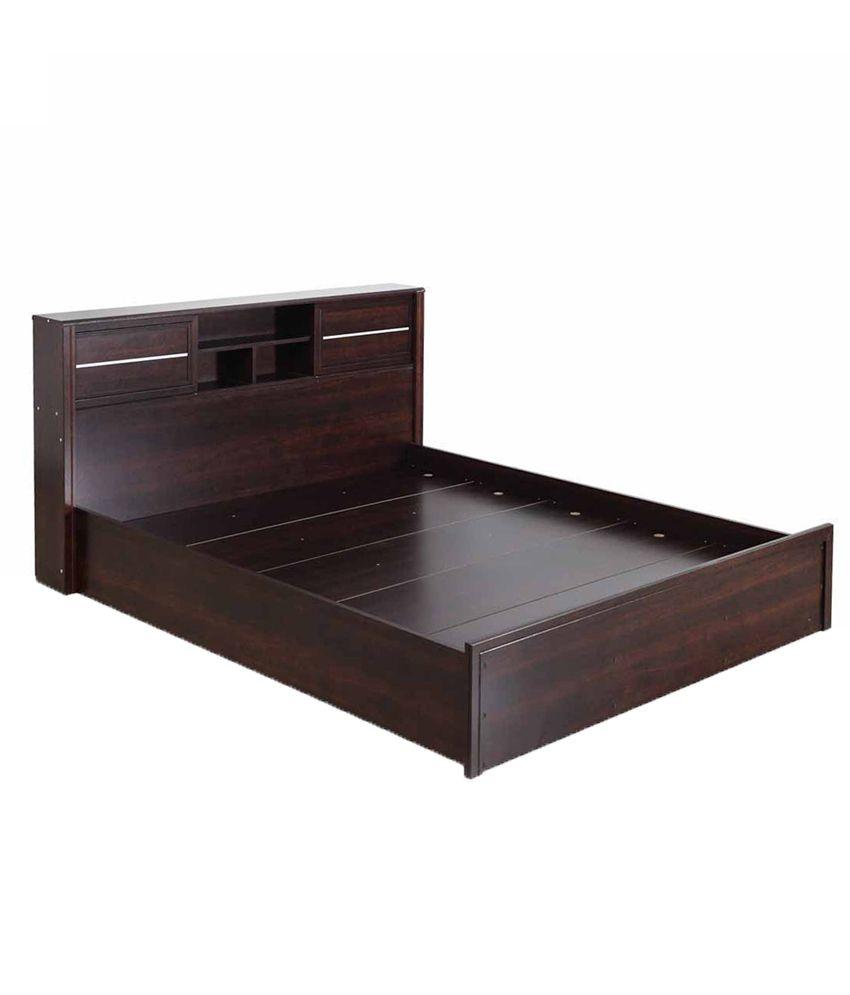 Milan Bedroom Furniture Royaloak Milan Queen Bedroom Combo With Honey Brown Finish