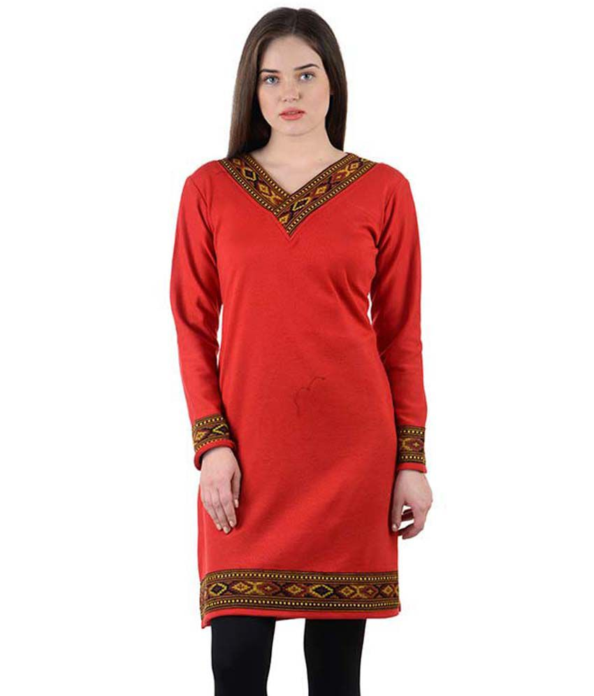 8f35f21ce6b Numbrave Red Woollen - Buy Numbrave Red Woollen Online at Best Prices in  India on Snapdeal