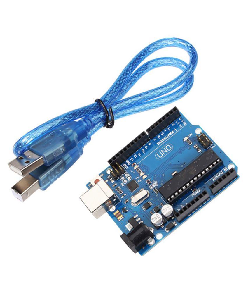 Arduino Uno R3 Atmega328p Development Board With Usb Cable