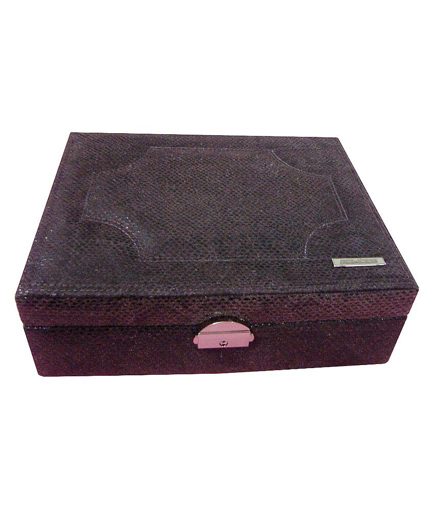 Jaws N Horns Leather Jewelry Box