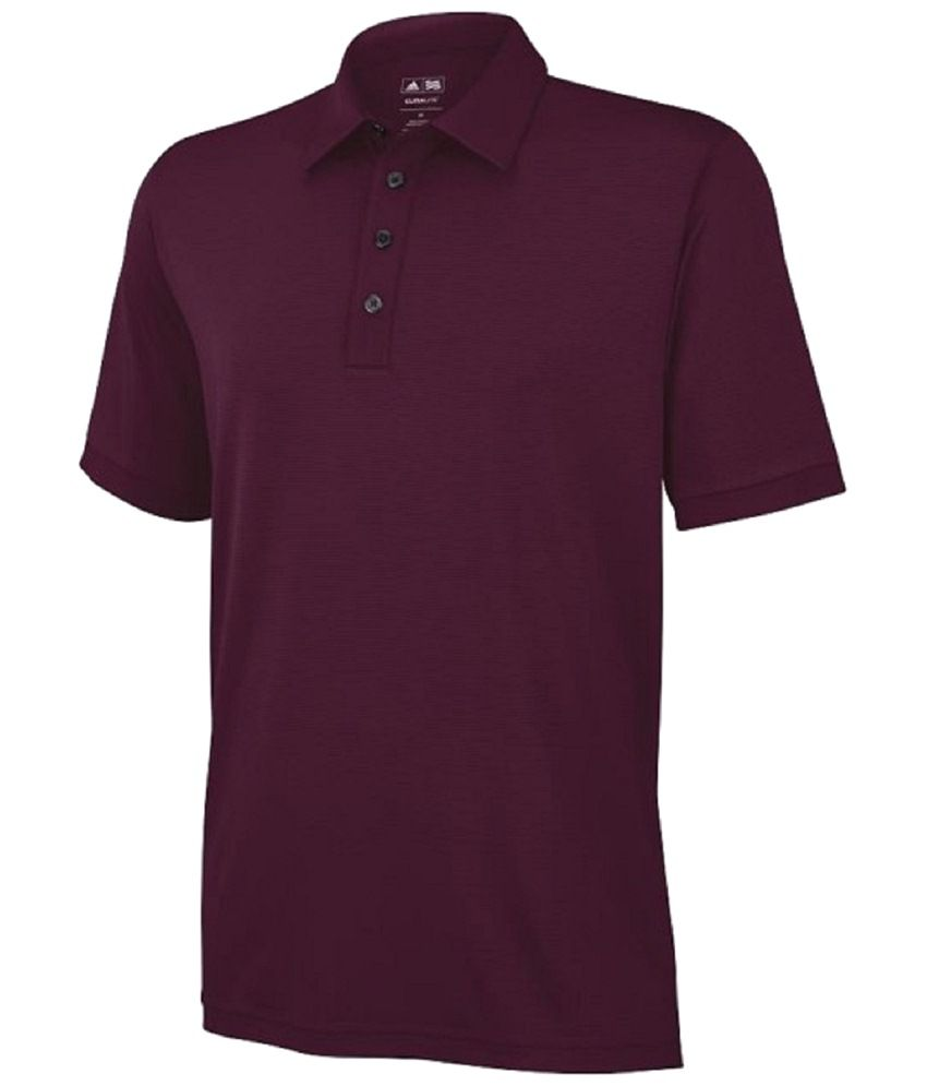 TaylorMade Purple Golf Polo T Shirt