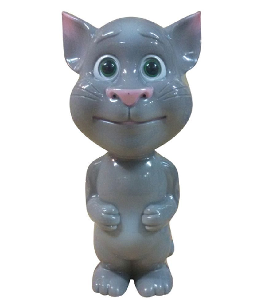 Kashish Toys Grey Plastic Talking Tom Buy Kashish Toys Grey