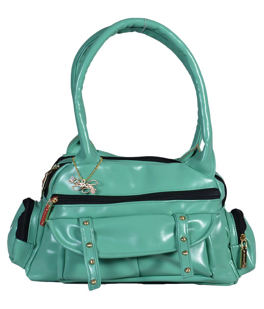 Lengloy Green Shoulder Bag