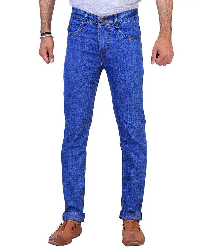 NE Multicolor Regular Fit Jeans - Pack Of 4