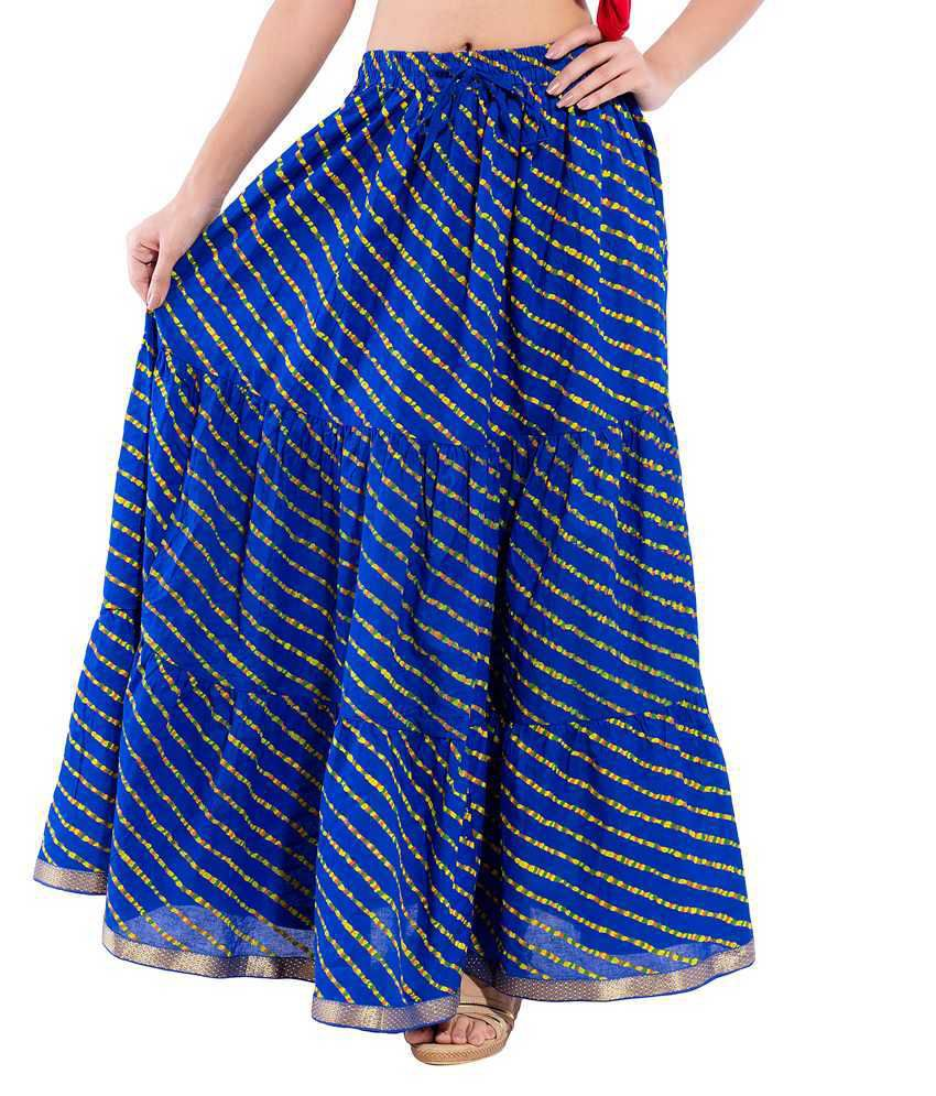 Decot Paradise Cotton A-Line Skirt