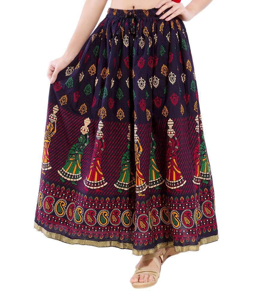 Decot Paradise Multi Cotton Maxi Skirt