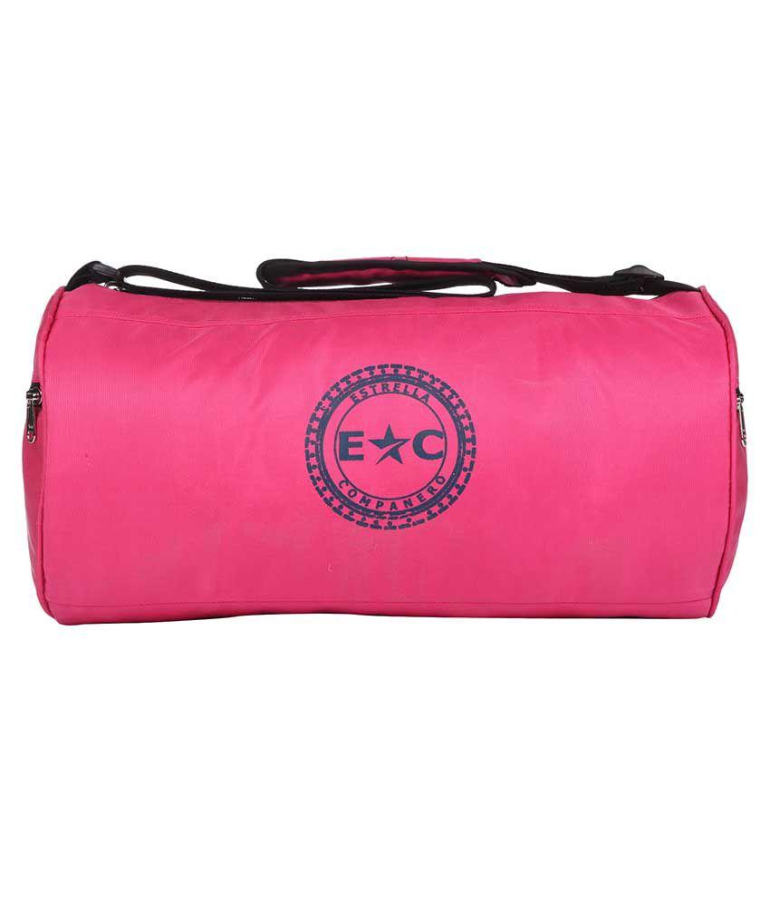 Estrella Companero SOFIA -EC73 Pink Gym Bag