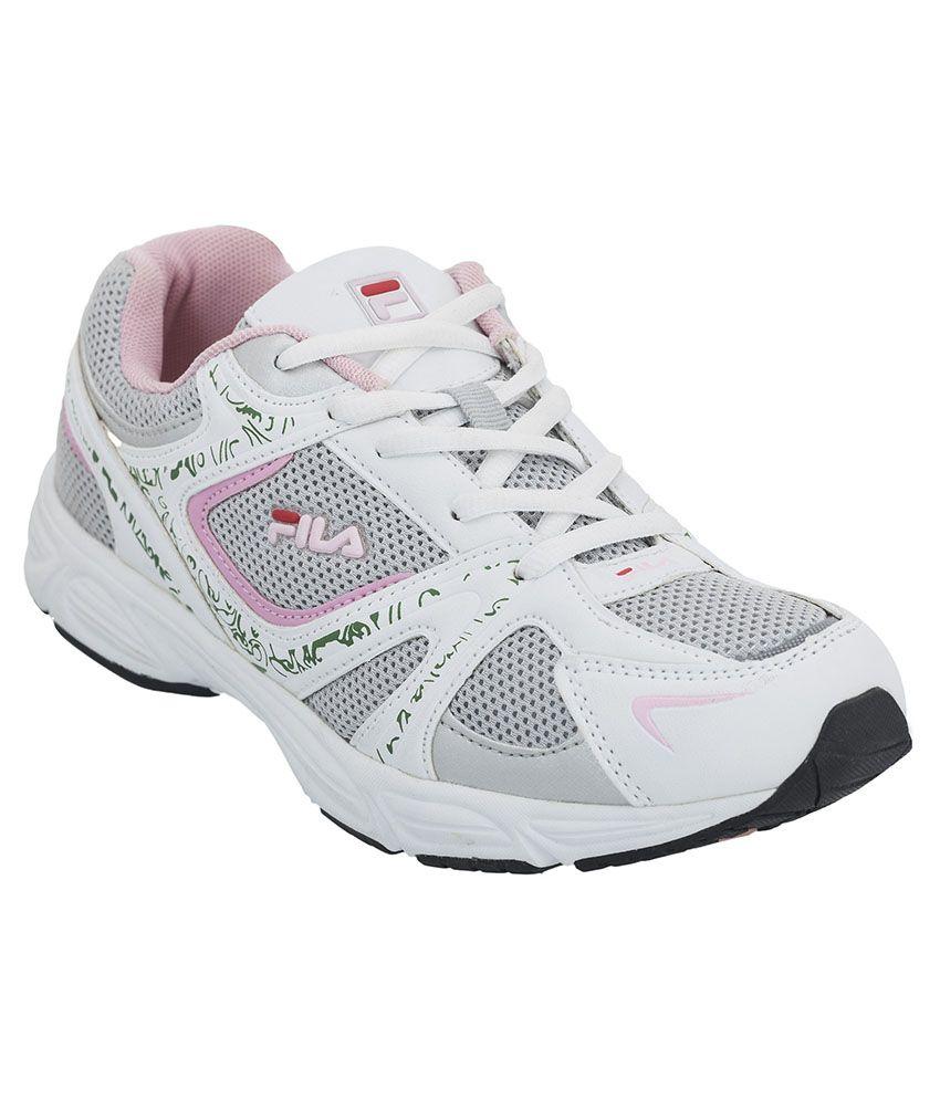 Fila Elixir White Sports Shoes