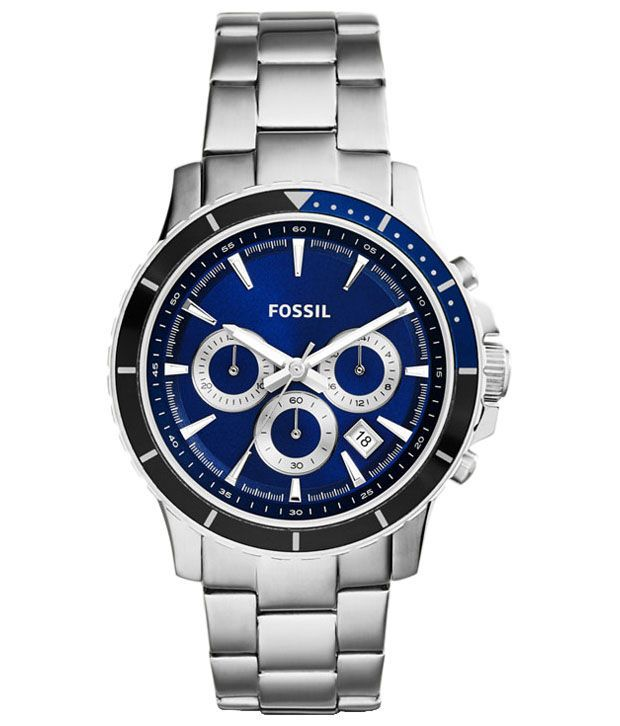 4c53f727969 Fossil Silver Analog Wrist Watch for Men - Buy Fossil Silver Analog Wrist  Watch for Men Online at Best Prices in India on Snapdeal