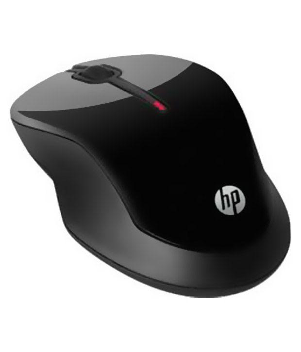 HP X3000 Wireless Mouse Black