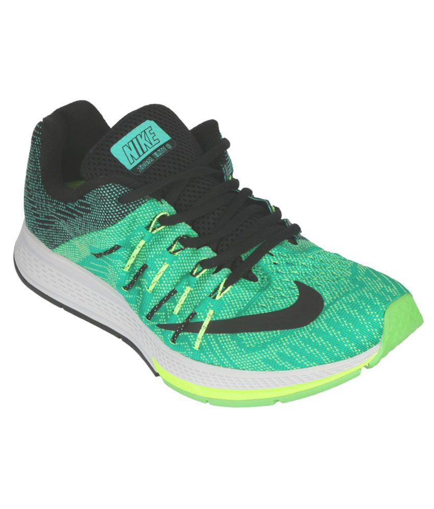 new concept 073e9 bf5d2 Nike Air Zoom Elite 8 Green Sports Shoes