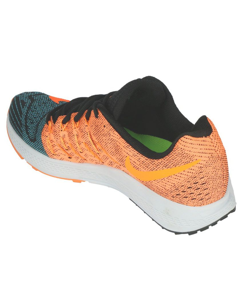 ... Nike Air Zoom Elite 8 Orange Sports Shoes ...
