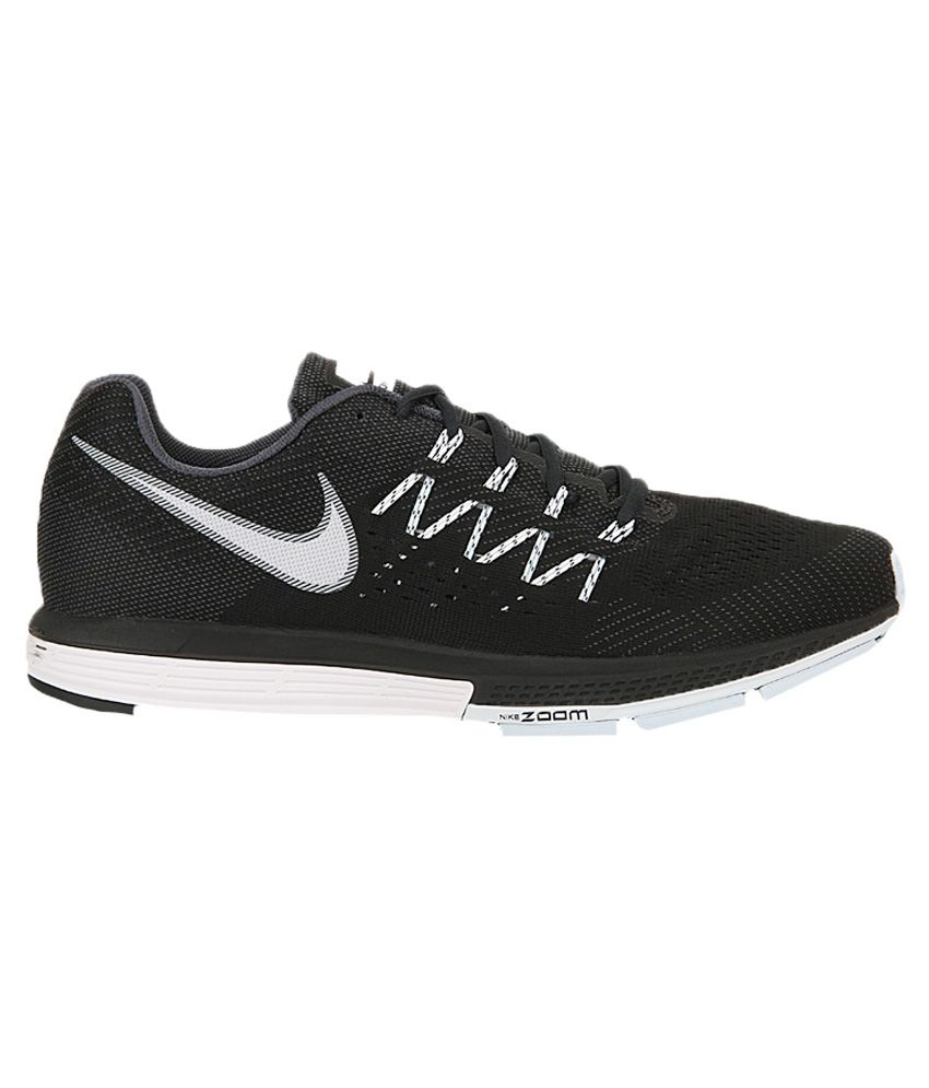 afb4cde397d Nike Air Zoom Vomero 10 Black Sports Shoes - Buy Nike Air Zoom ...