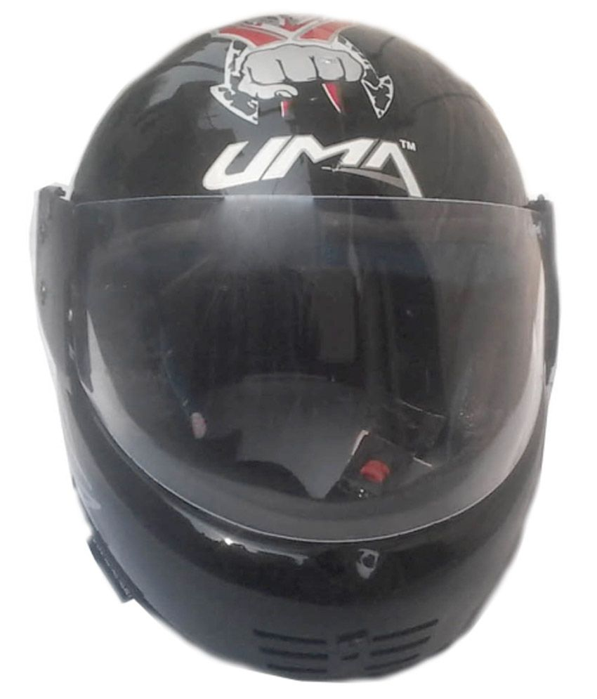 Uma Enterprises Black Full Face Helmet Buy Uma