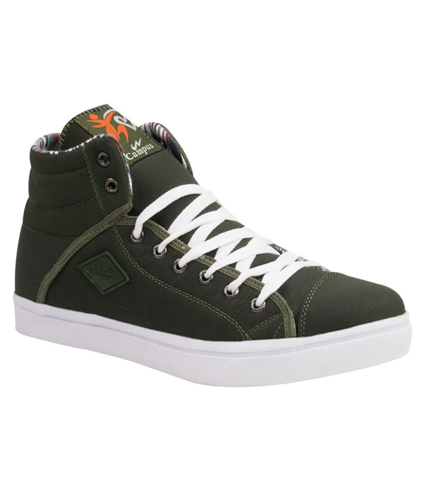 Campus Green Casual Shoes