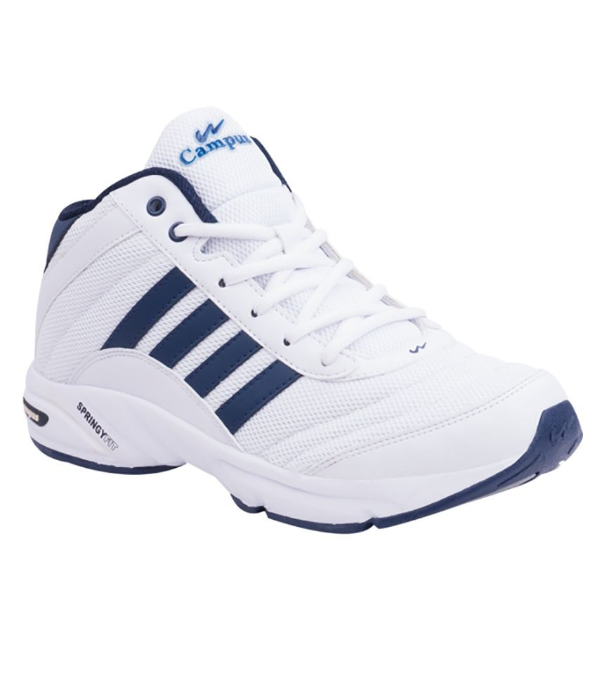 Campus BOND White Sports Shoes - Buy