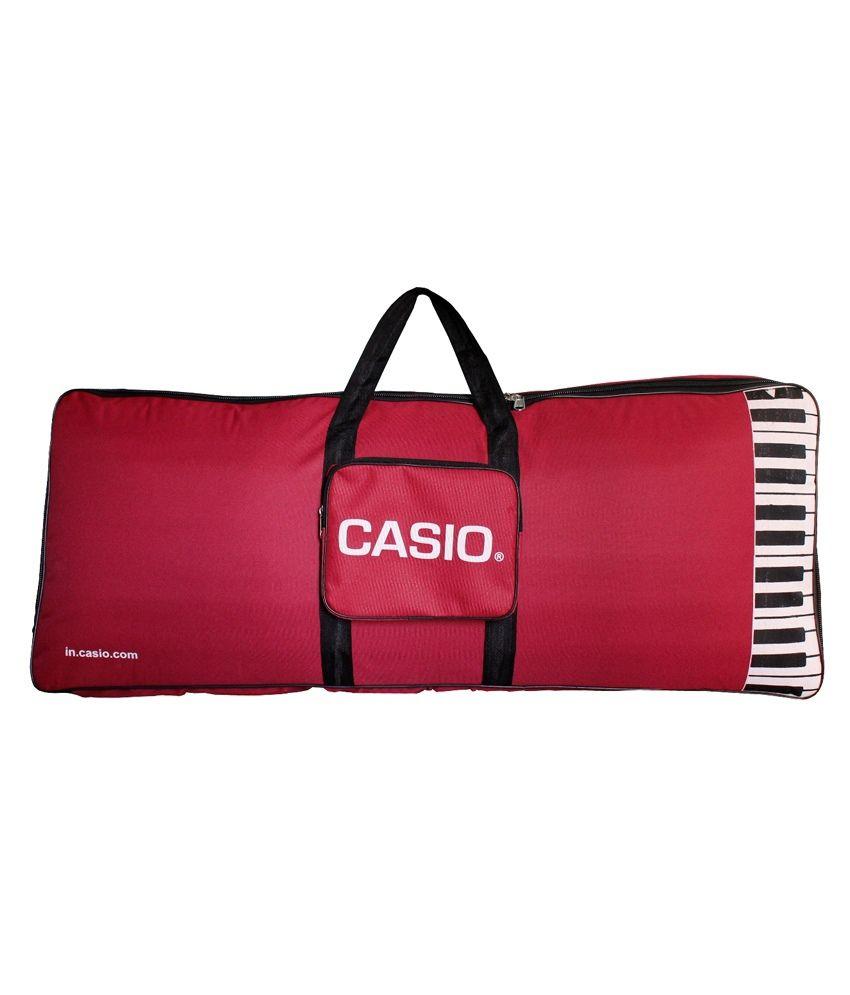 Casio Ctk 1300 Red Heavy Padded 61 Standard Keys Cover Gig Bag