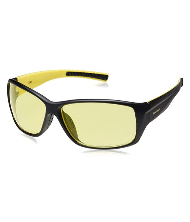 2bc176255425 Fastrack P293YL3 Yellow Sports Sunglasses - Buy Fastrack P293YL3 Yellow Sports  Sunglasses Online at Low Price - Snapdeal
