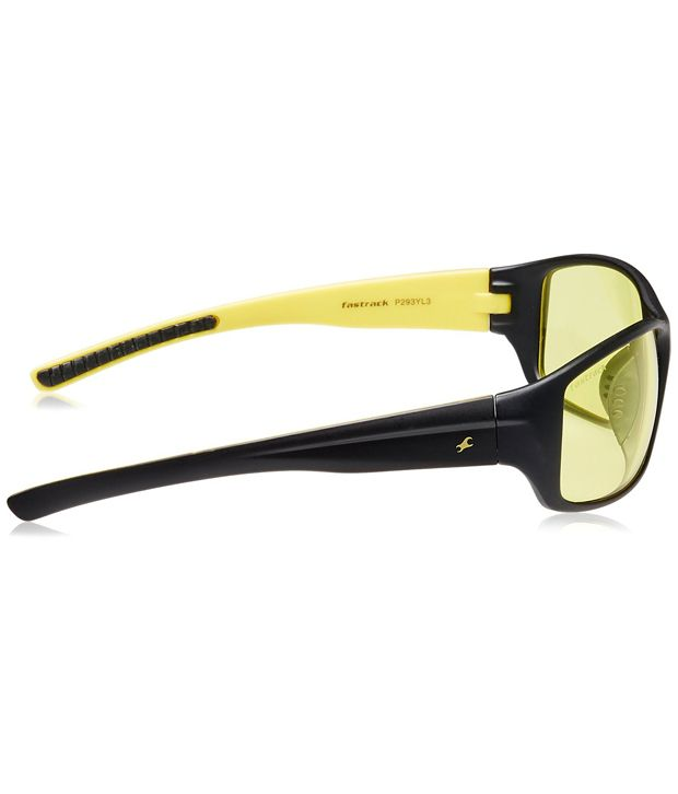 f4c019d535 Fastrack P293YL3 Yellow Sports Sunglasses - Buy Fastrack P293YL3 ...