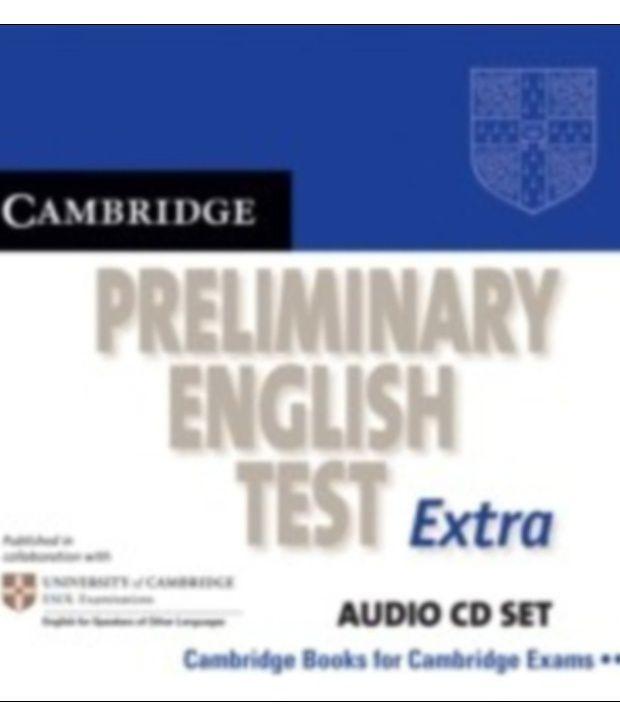 Cambridge Preliminary English Test Extra Audio Cd Set (2 Cds