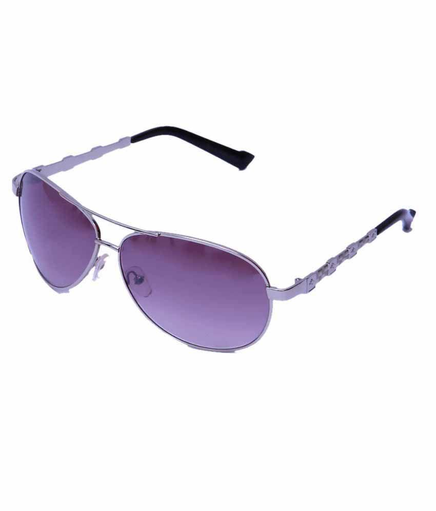 Closer Cls010-m Purple Aviator Sunglass For Women