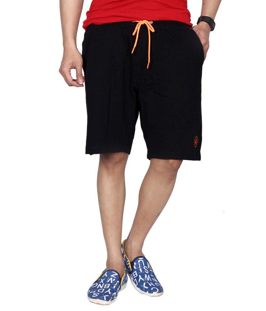 Hammock Solid Mens Sports Shorts