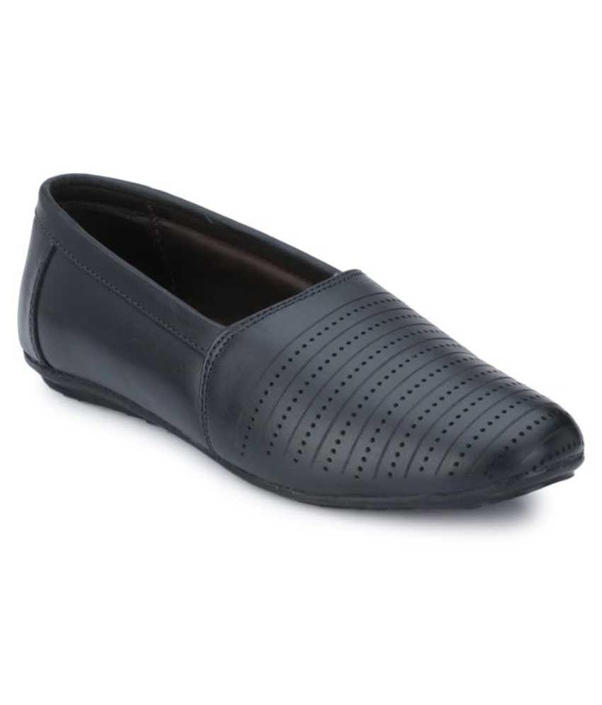 Menfolks Black Loafers