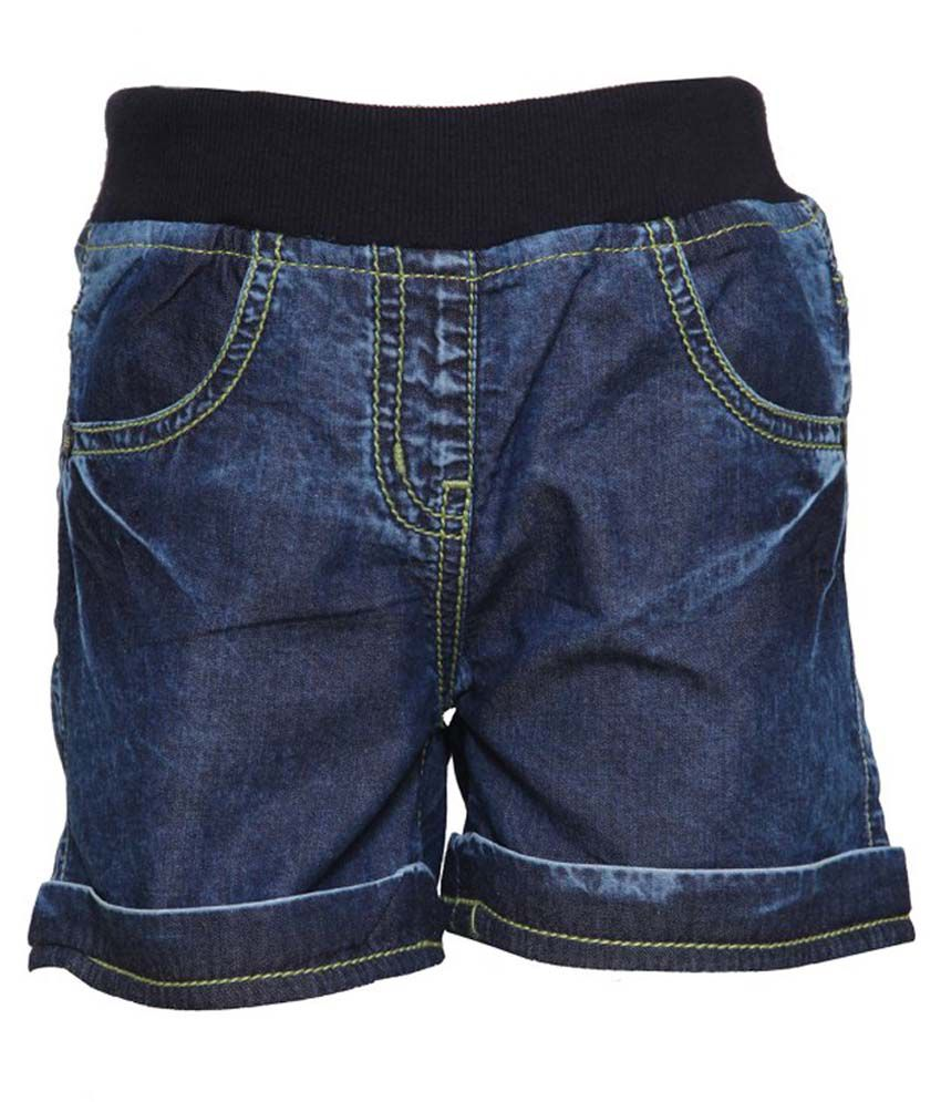 Tales And Stories Blue Shorts