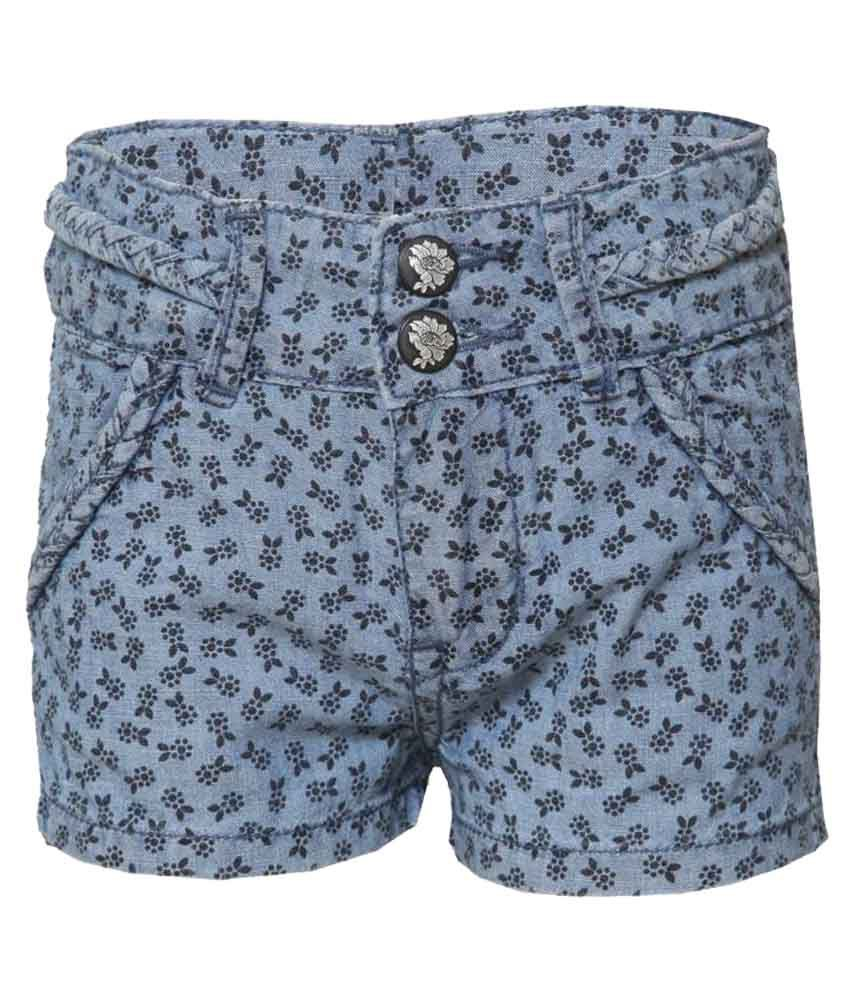 Tales And Stories Gray Shorts