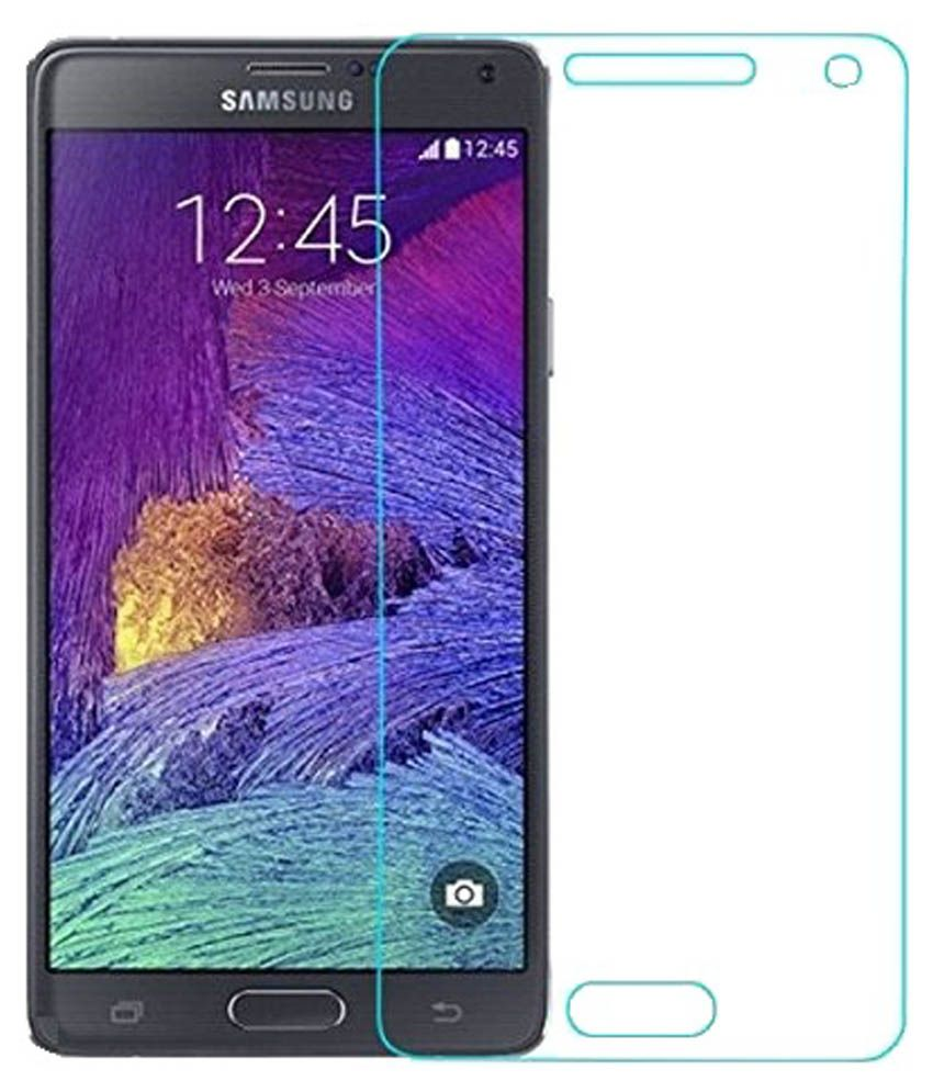 Samsung Galaxy Note 4 Tempered Glass Screen Guard by Zoook