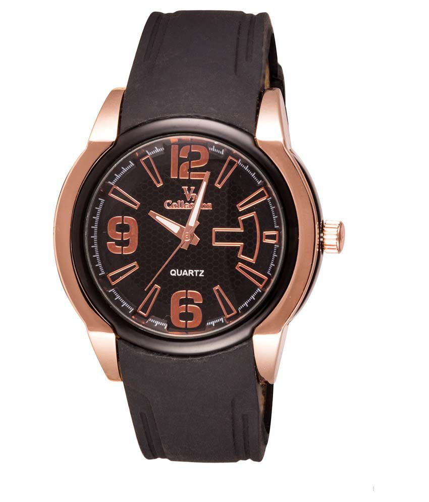 Fastrend Brown Round Analog Sports Watch