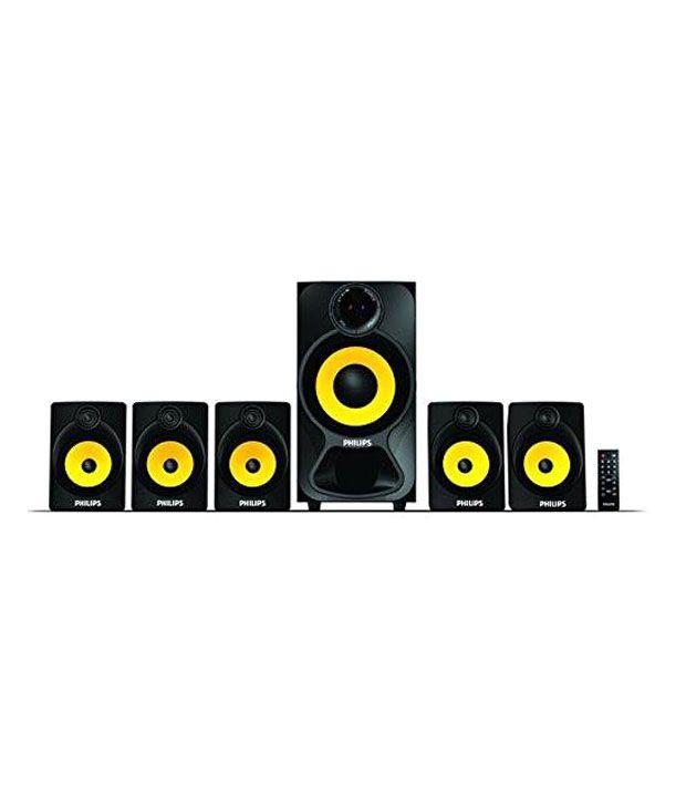 Philips Spa3800b Beat 5.1 Speaker System - Black