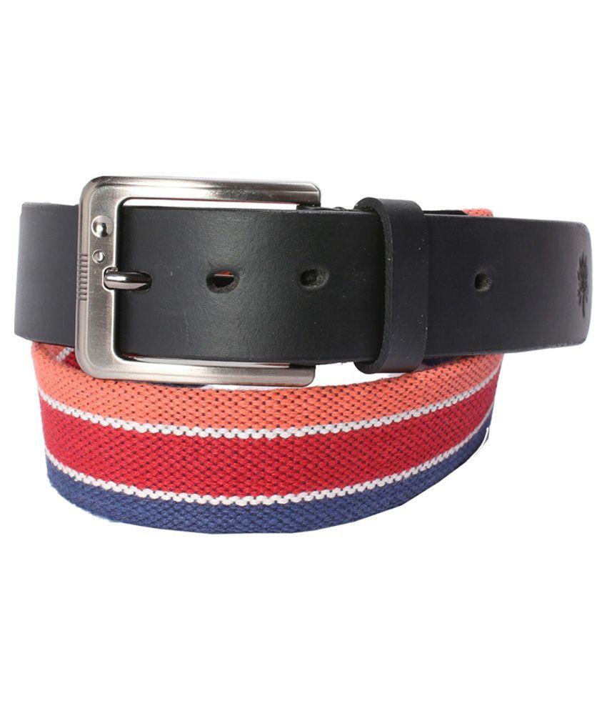 Crazee Wear Multi Colour Leather Belt For Men
