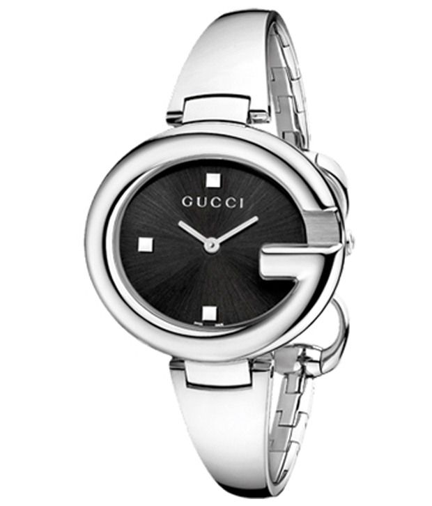 60840e9081f Gucci Silver Analog Wrist Watch for Women Price in India  Buy Gucci Silver  Analog Wrist Watch for Women Online at Snapdeal