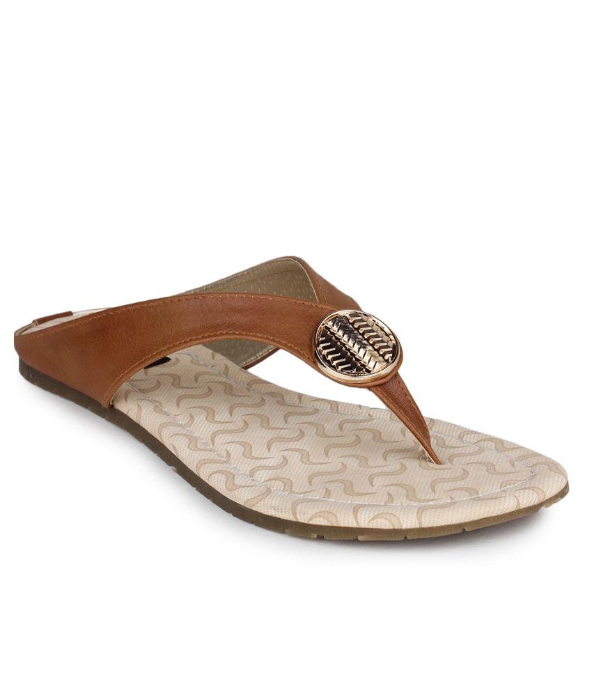 Shezone Brown Slip-Ons