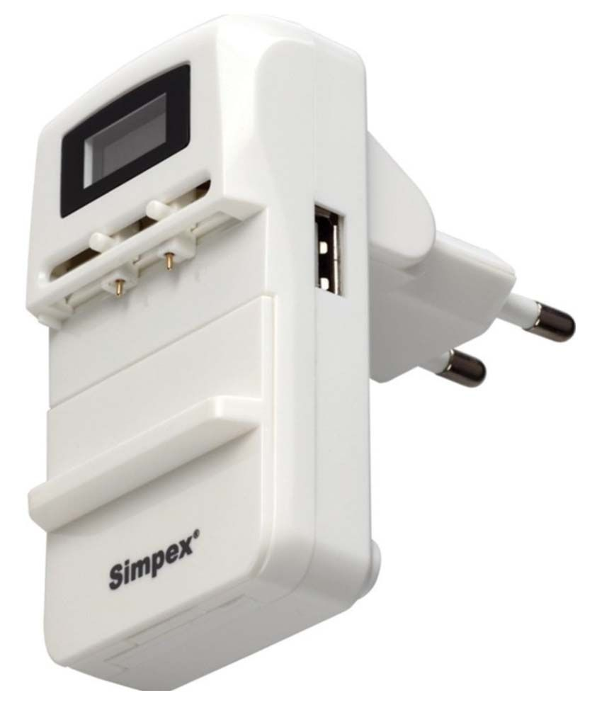 Simpex Black Universal Charger