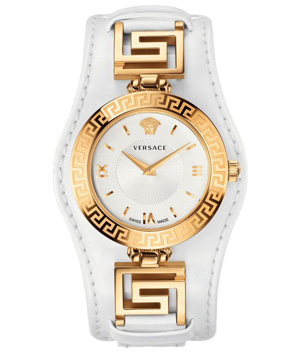 1ebe7aebcc Versace White Analog Wrist Watch for Women Price in India: Buy ...