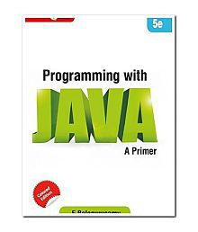Programming in JAVA A Primer Paperback (English) 5th Edition 2014