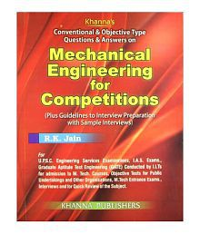 Conventional & Objective Type Questions & Answers On Mechanical Engineering For Competitions Paperback (English) 2012