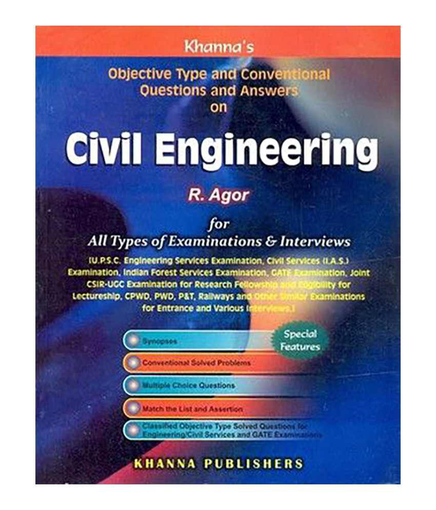 Civil Engineering-Objective Type and Conventional Questions and Answer  Paperback (English) 2012