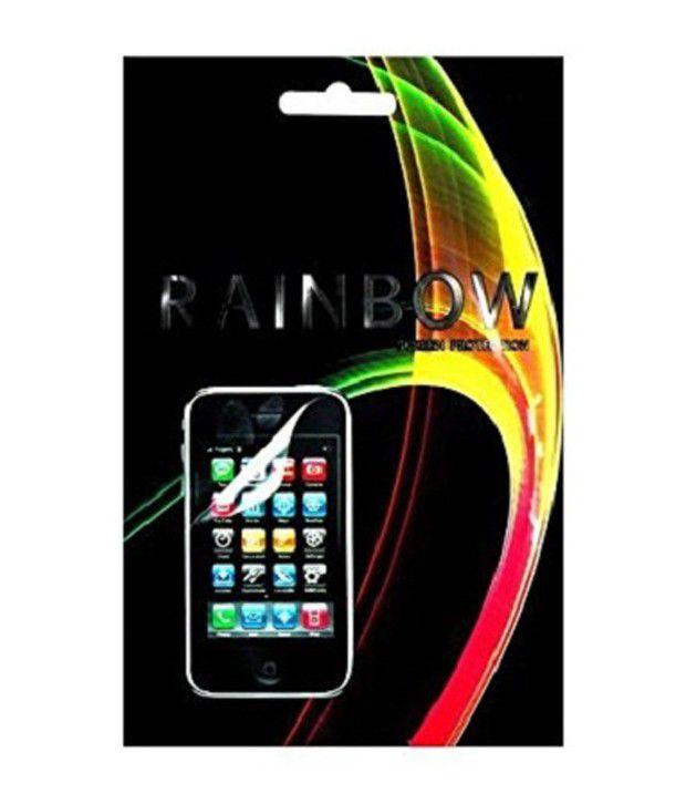 Rainbow Screen Guard For Xolo 910