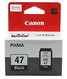 Canon PG 47 Black Ink Cartridge