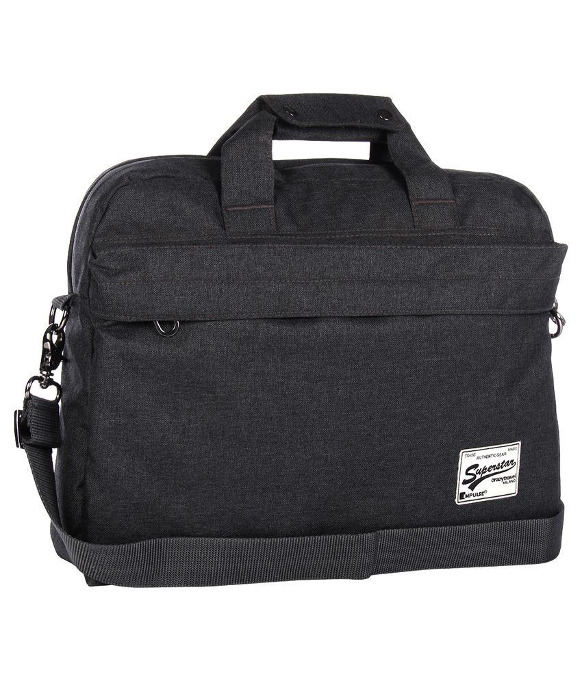 Impulse Grey Laptop Bag